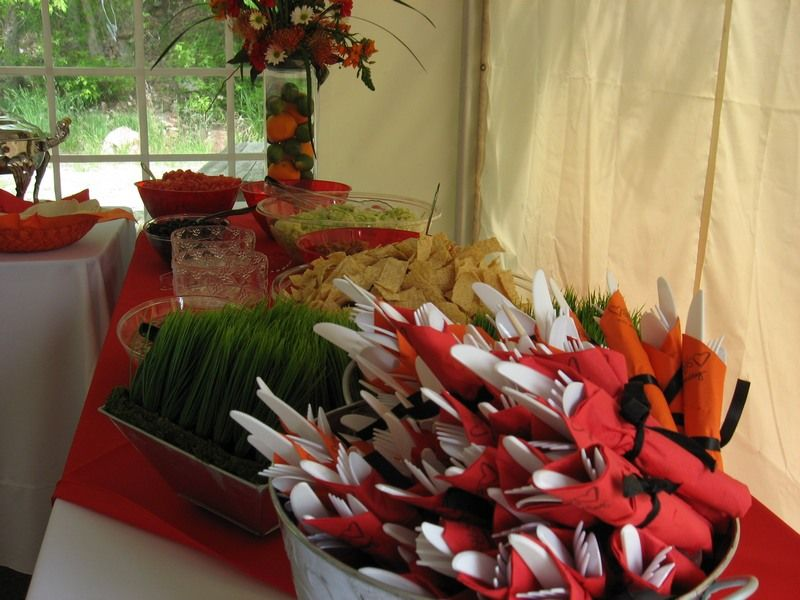 Fall Barbecue Wedding Reception Ideas
