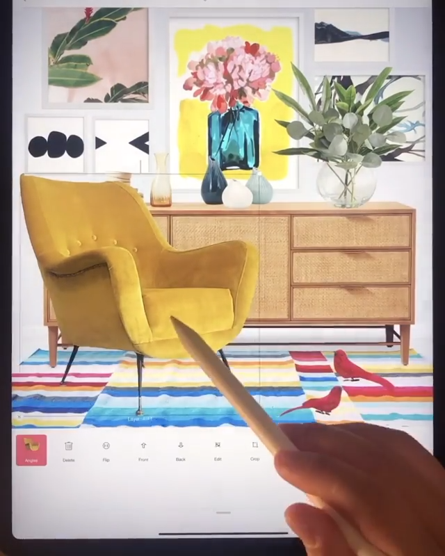 Designing at your fingertips