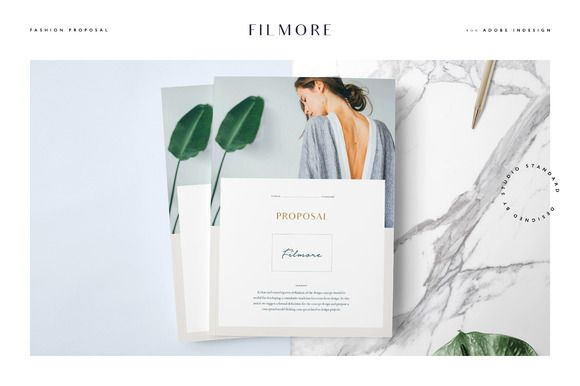 Filmore Fashion Proposal by Studio Standard on @creativemarket - film proposal template