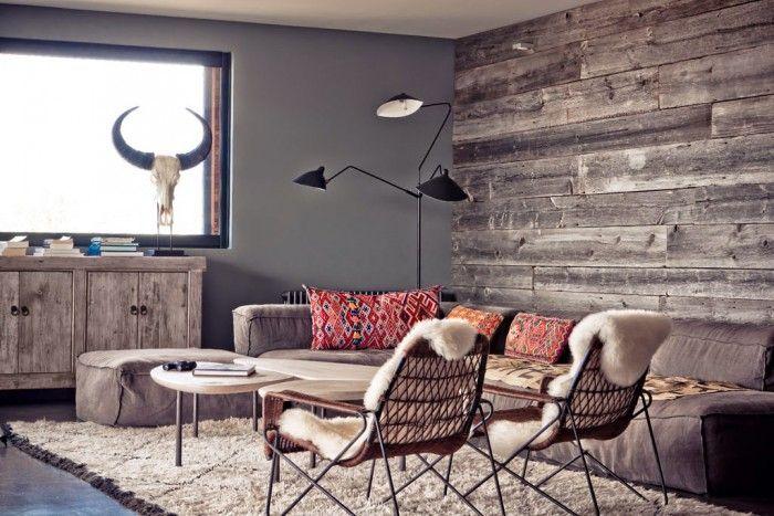 Wohnzimmerwand Holz ~ Statt tapete oder farbe mal holz an der wand! auch mal etwas