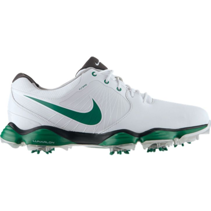 sale retailer 8aba1 3c7d2 Nike Lunar Control II Limited Edition Masters Golf Shoes - White Green...   golf  shoes