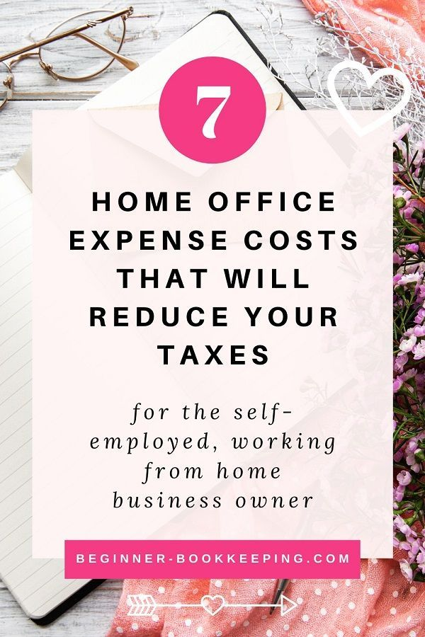 Home Office Expense Costs That Reduce Your Taxes In 2020 Home Office Expenses Work From Home Business Business Mileage