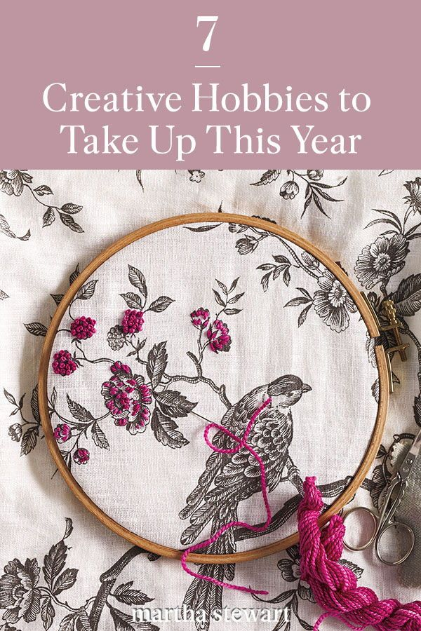 Learn how to pick up a new hobby like painting, bullet journaling, knitting, hand lettering, and other crafting ideas with these tips. Click here for these creative hobby beginner guides and more craft ideas. #marthastewart #crafts #craftingessentials #hobby