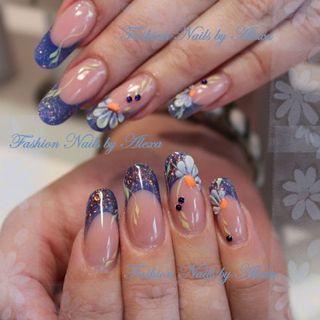 modellage von alexandra muster - Nails Muster