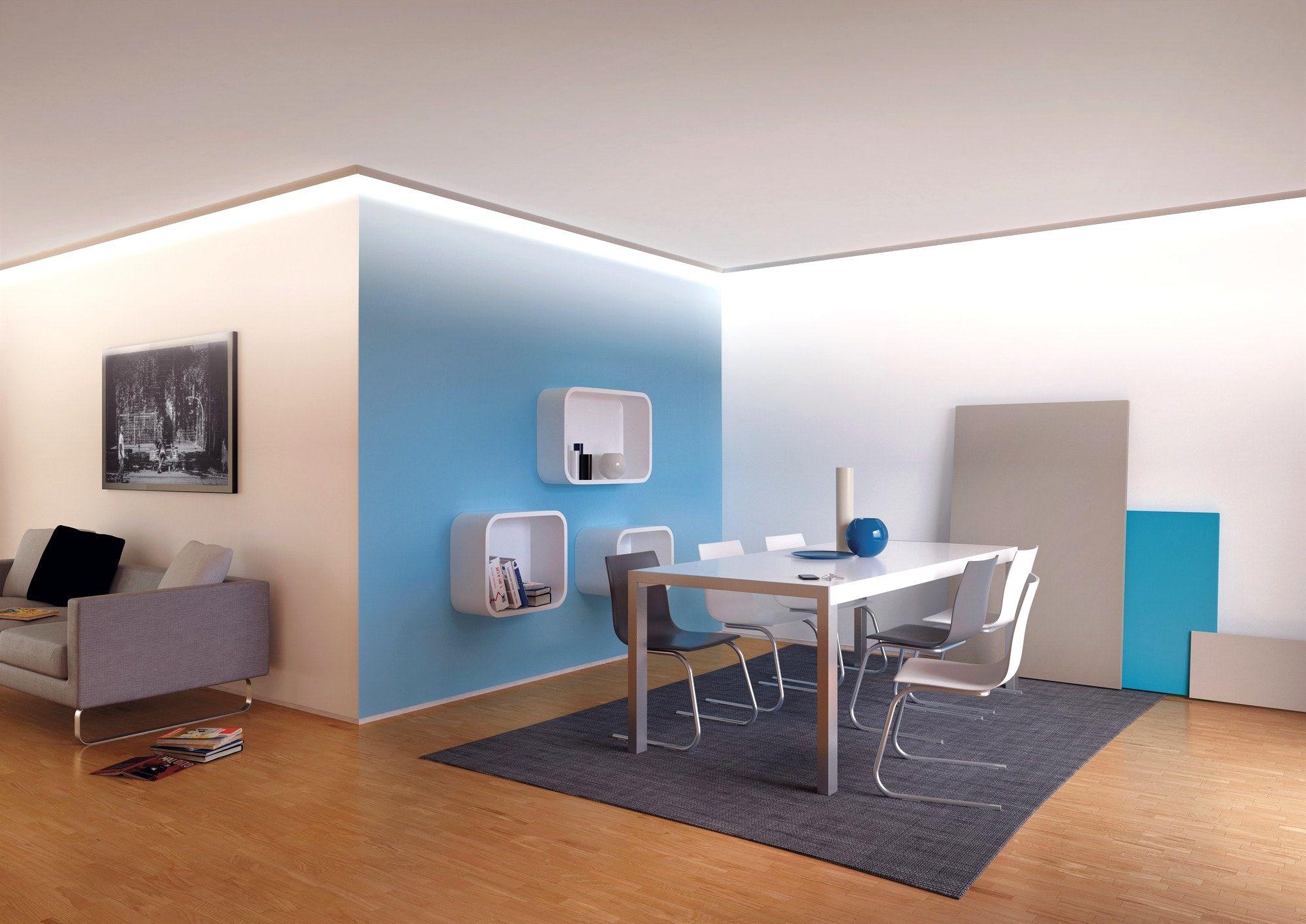 deckenbeleuchtung wohnzimmer planen Beleuchtung