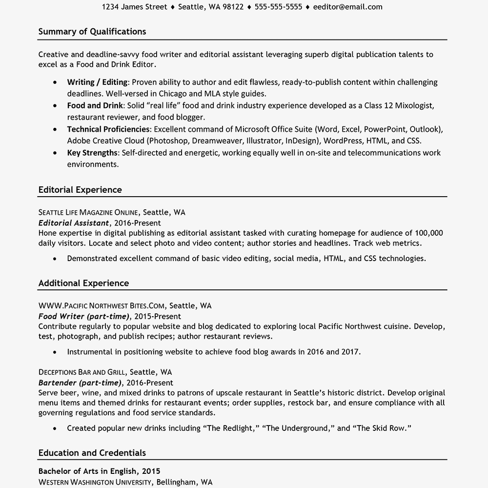 For 5 Years Experience In Marketing Marketing resume