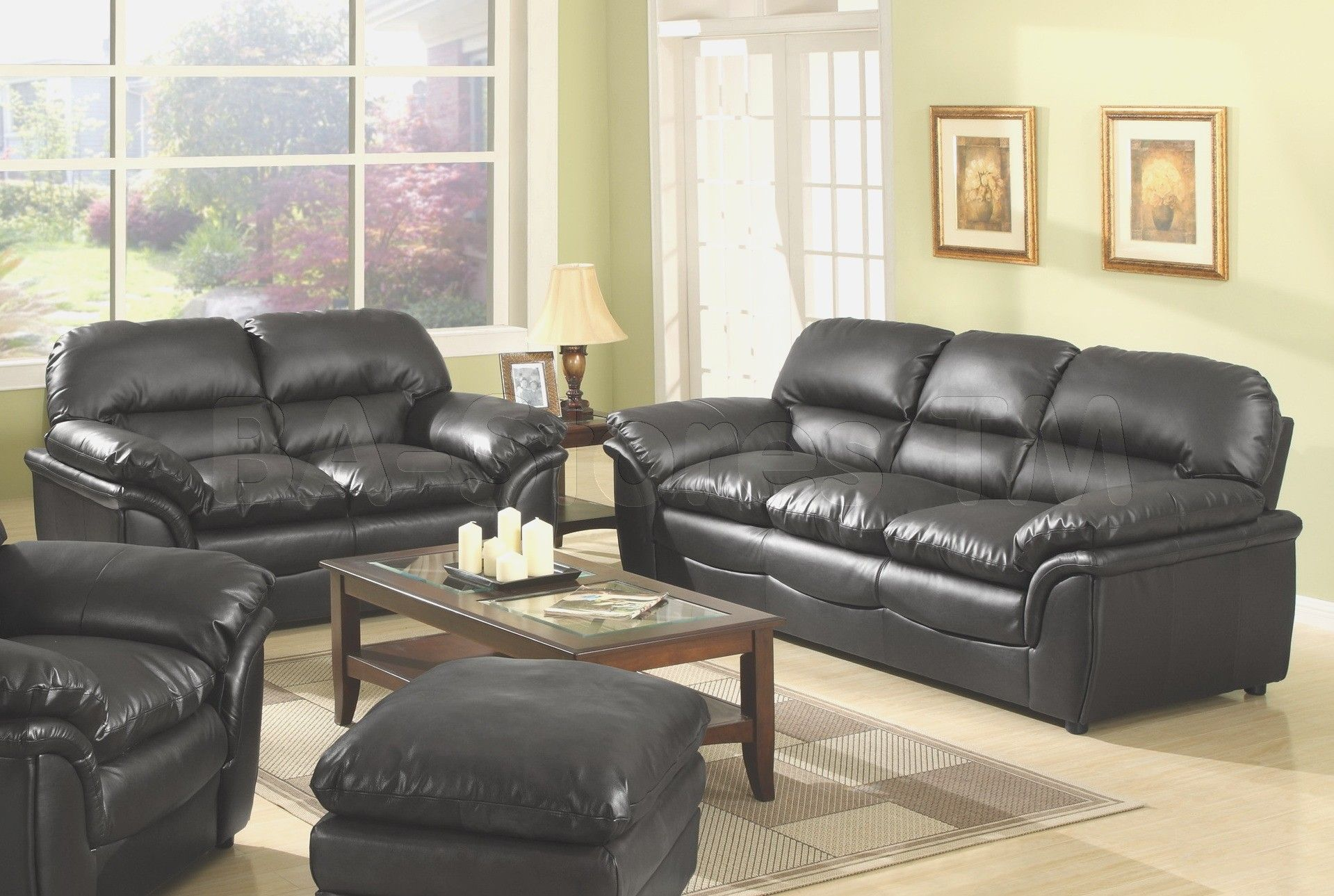 Leather Living Room Furniture Sets Ashley Bobs
