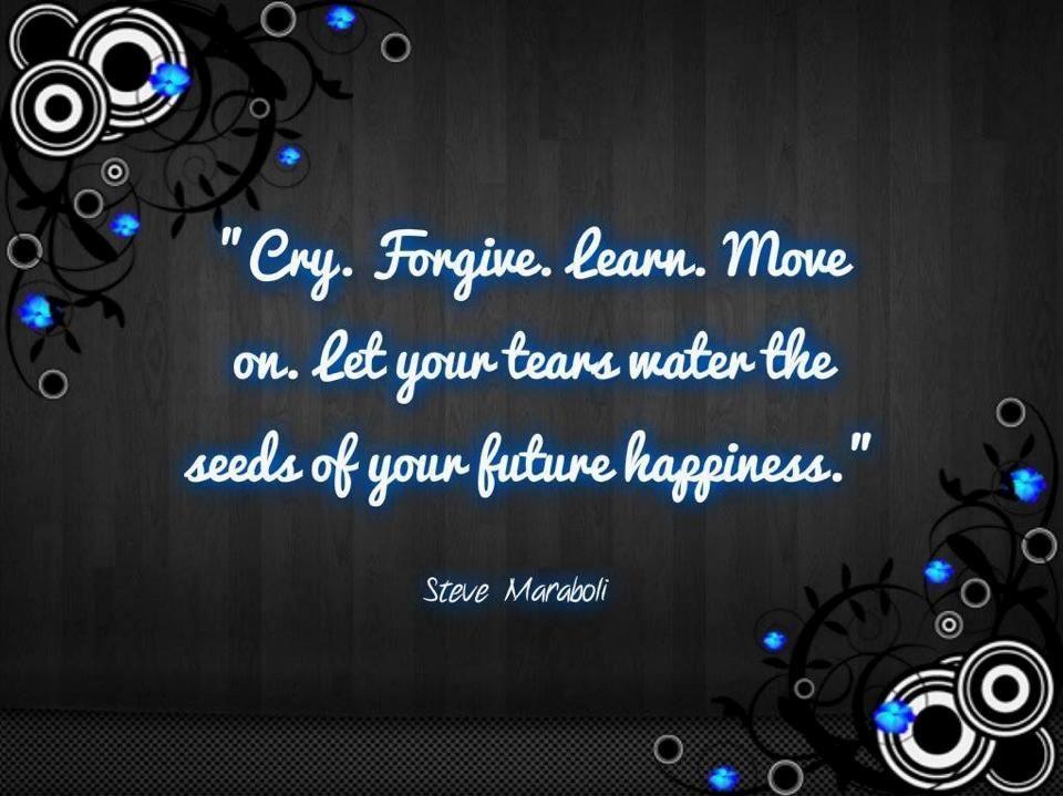 Feel it, face it and then let it go   - lmvus.com