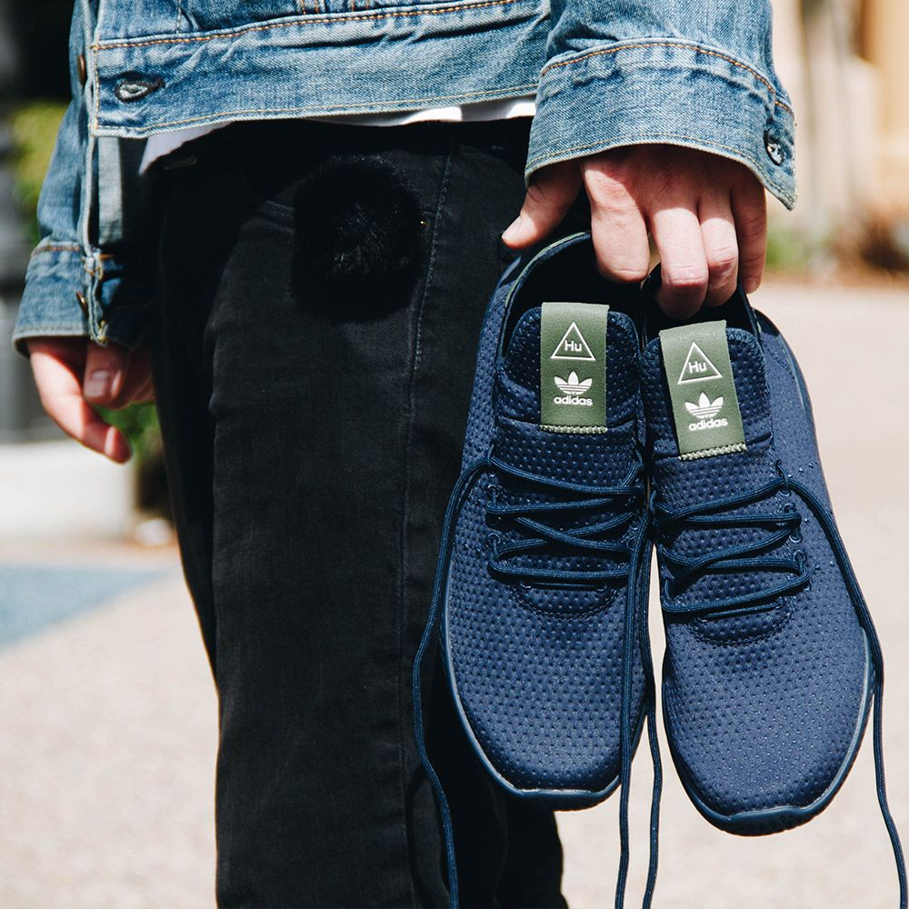 f0d8f6afe443e Adidas Pharrell Williams Tennis Hu B41807 Men s - Navy Designed in  collaboration with Pharrell Williams