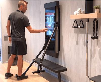 Tonal Accessory Shelf At Home Gym Home Gyms Ideas Home Gym