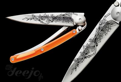 Comme une envie ...: Deejo ! Le couteau qui te collera à la peau... Gag...