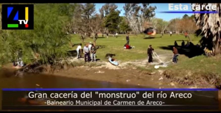 Carmelito: ¿un monstruo en el río de Carmen de Areco?