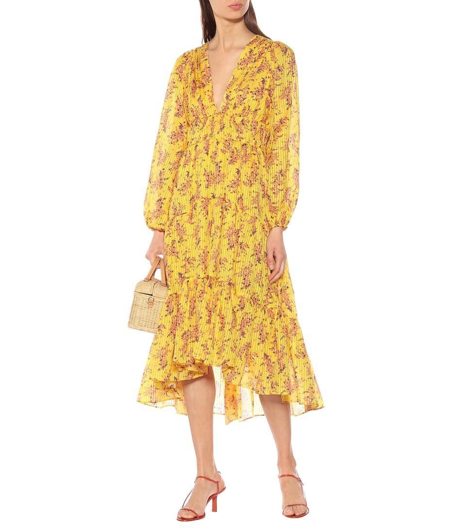 Gelbe Sommerkleider sind 2019 ein großer Modetrend ...