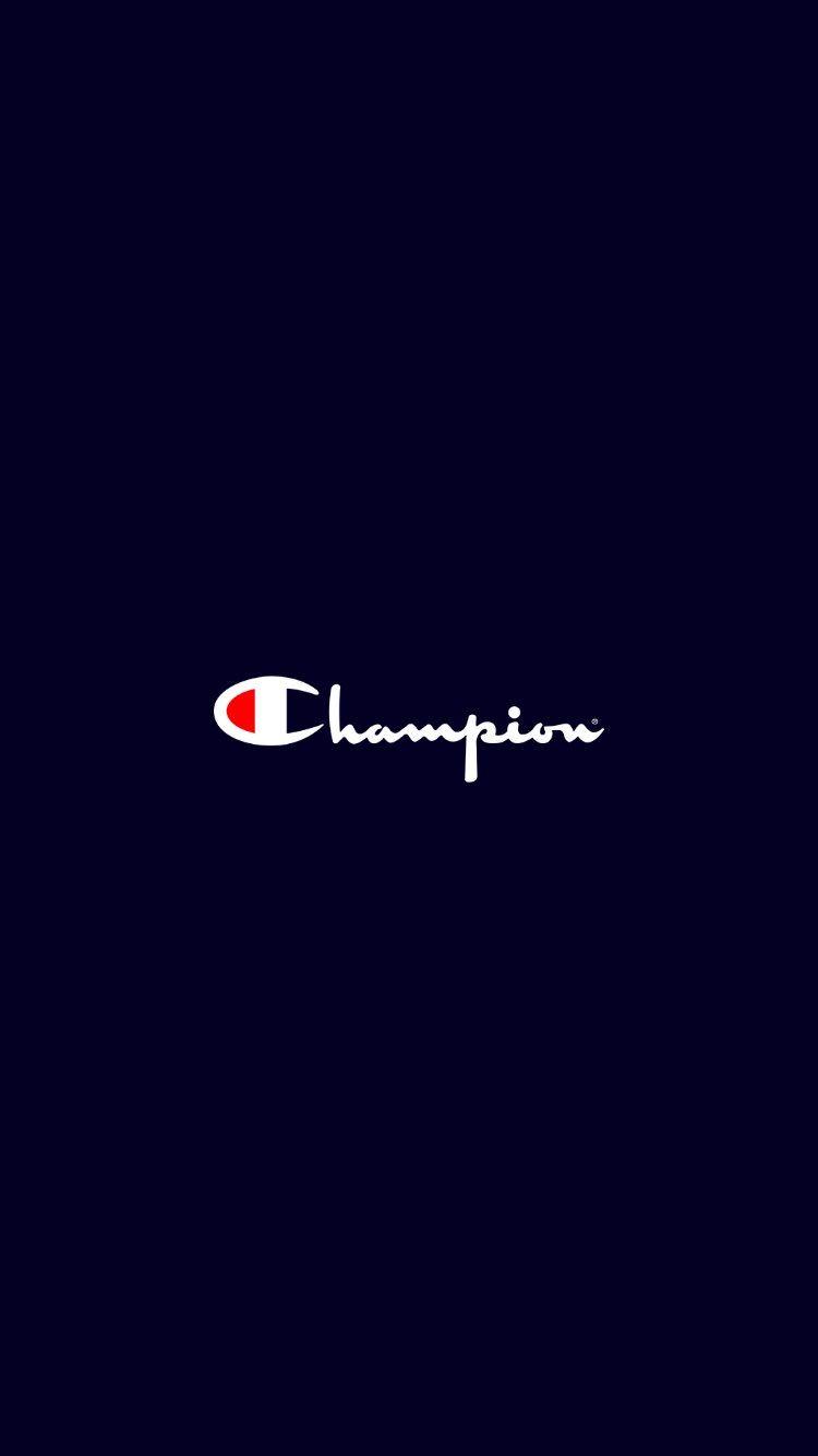チャンピオン Championのロゴ 01 無料高画質iphone壁紙 ロゴデザイン