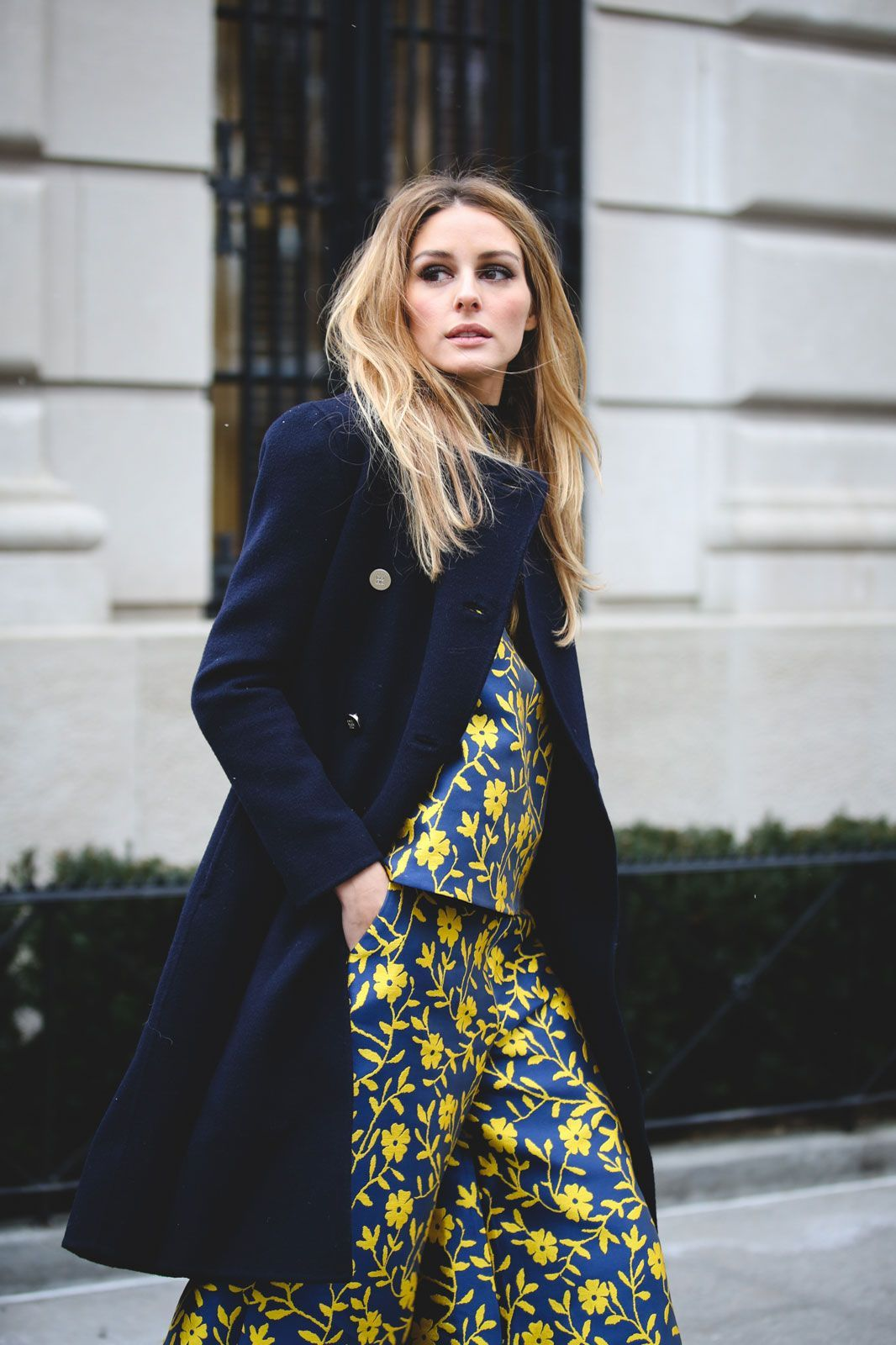 According to Olivia Palermo, matching sets aren't going anywhere. #refinery29 http://www.refinery29.com/2016/02/103173/ny-fashion-week-fall-winter-2016-street-style-pictures#slide-65
