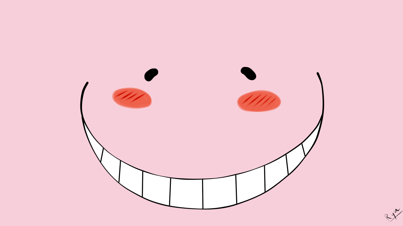 Koro Sensei Lovely Face Assassination Classroom Anime Heaven Koro Sensei Face