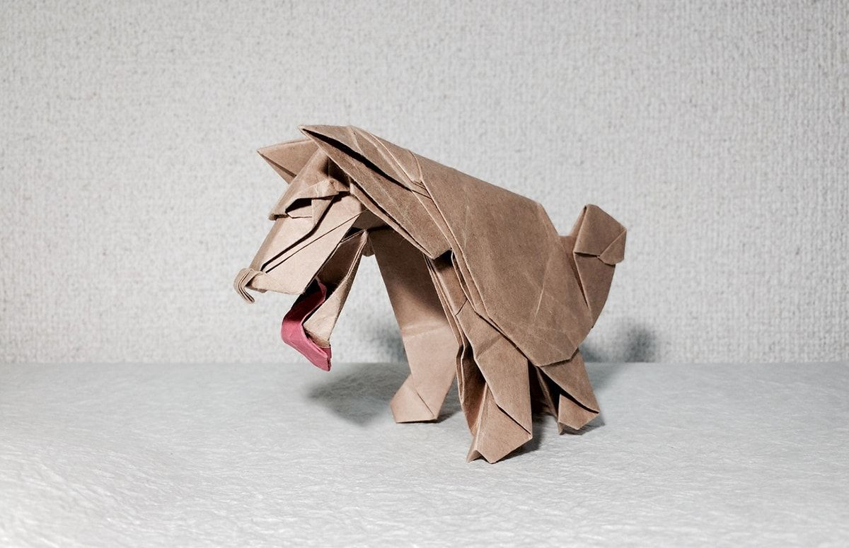 Origami hungry doggy origami pinterest origami origami hungry doggy jeuxipadfo Image collections