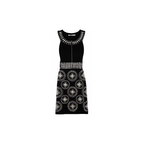 Diane Von Furstenberg Everly Embellished Dress