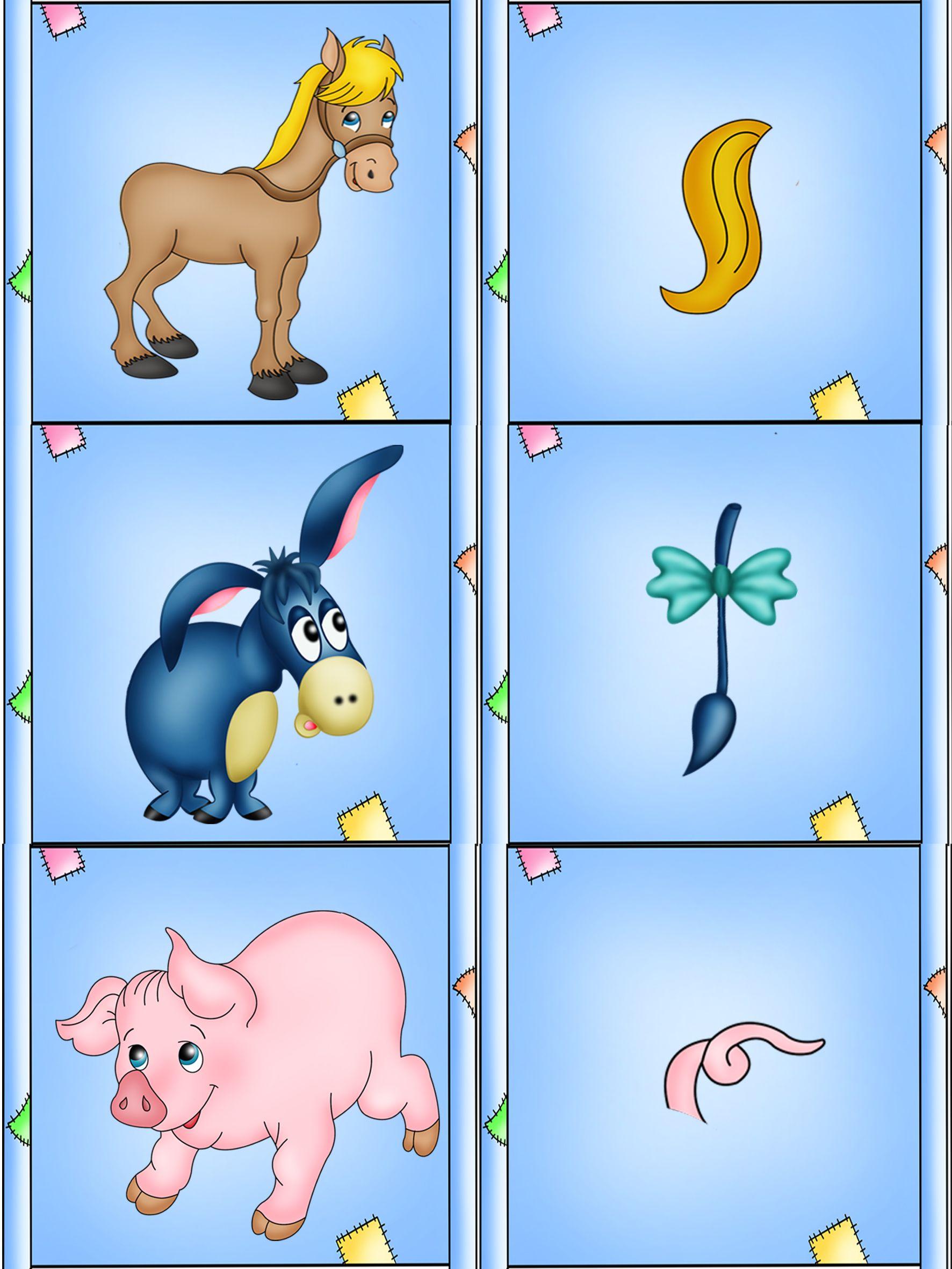 Игры в картинках выбери животное