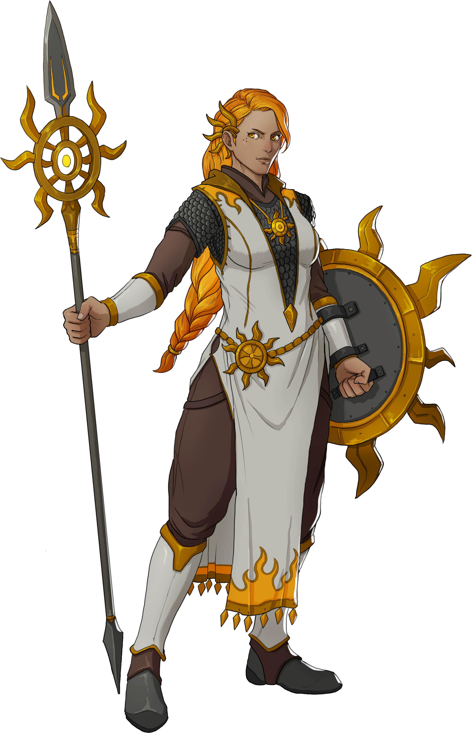 Praise The Sun Cleric Person Character Art Rpg Character Character Concept