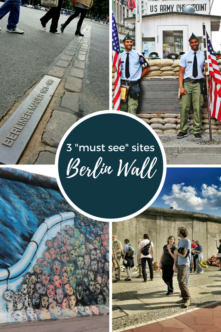 """3 """"must see"""" sites to experience the history of the Berlin Wall in a reunified Germany #berlin #berlinwall #germany #history #travel"""