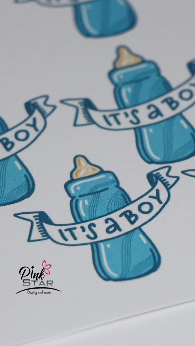 تصميم ثيمات على الطلب تصميم ثيم للمواليد تصميم ثيم لنيو بيبي بوي Design Theams Design Theams For Baby Boy Or Baby Girls De Pink Stars Pink New Baby Products