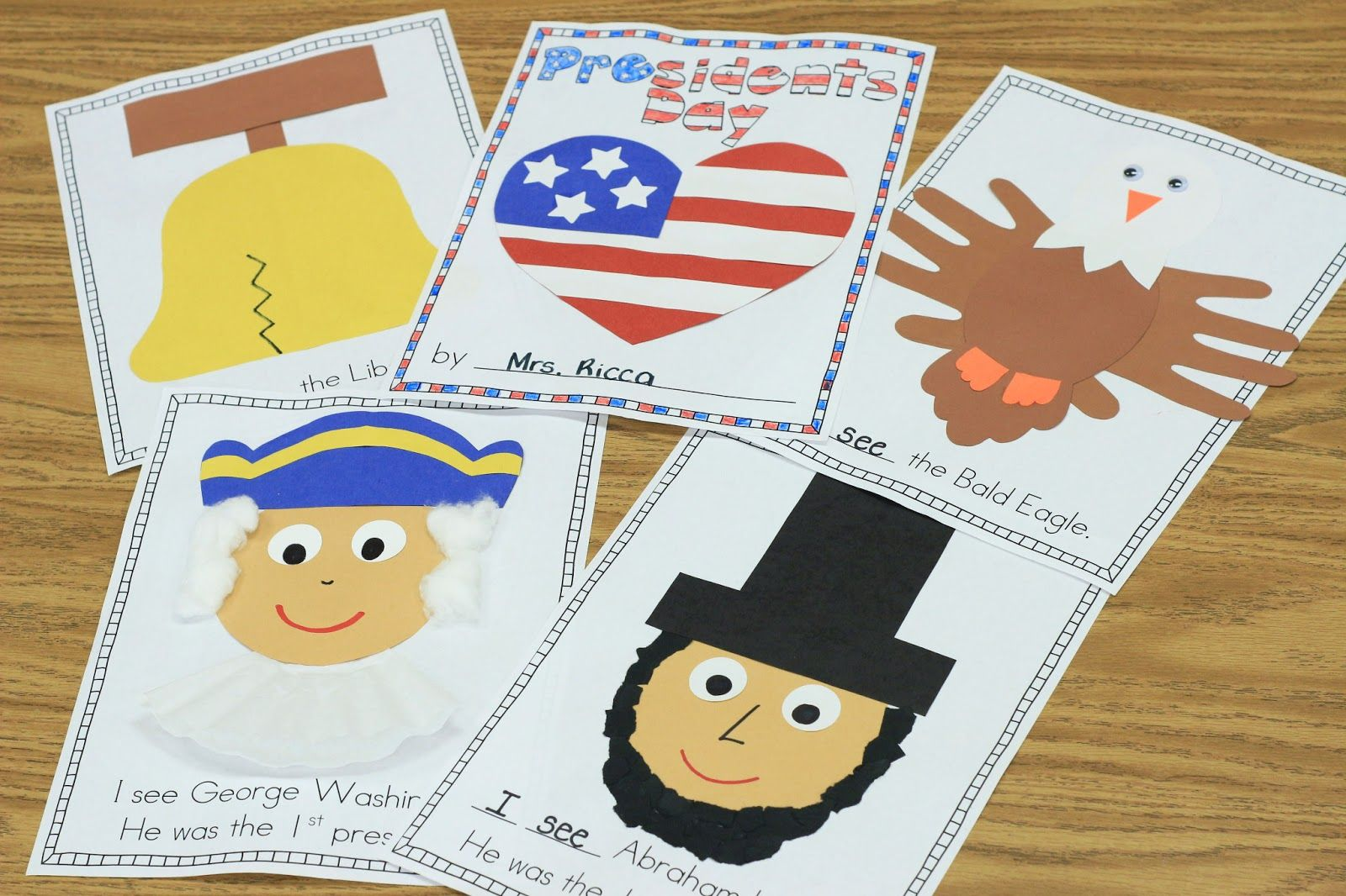 Mrs Ricca S Kindergarten Presidents Day Freebie Teaching