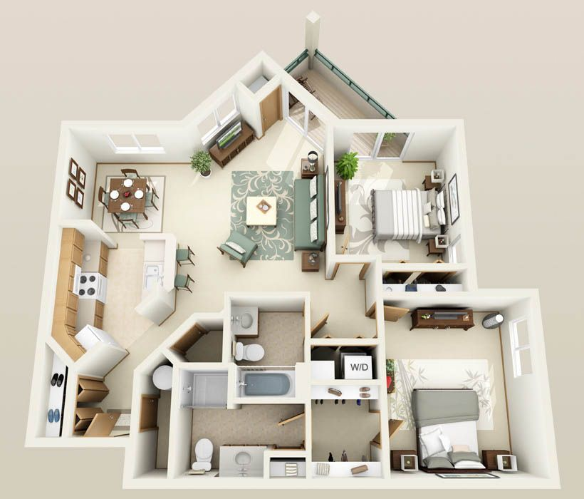 Apartments For Rent 4 Bedrooms: 1, 2 & 3 Bedroom Apartments With Heated Underground