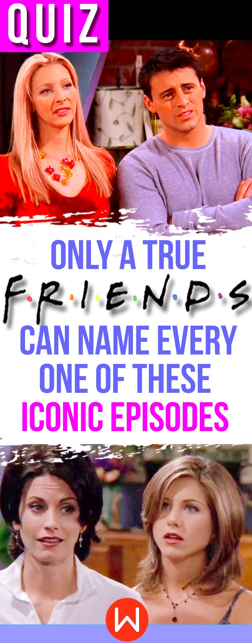 "Quiz Only A True ""Friends"" Can Name Every One Of These"