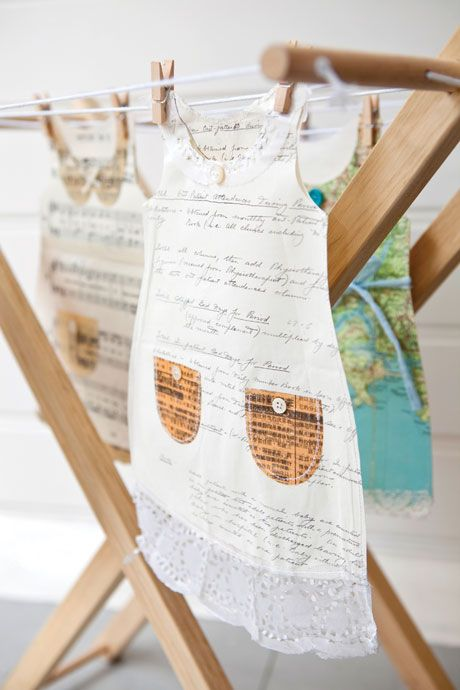 Paper dresses - Making