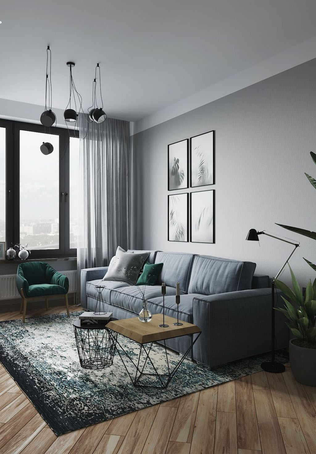 Decorator Tricks For Small Living Rooms And More Homes Tre Masculine Living Rooms Living Room Decor Apartment Modern Grey Living Room Manly living room colors