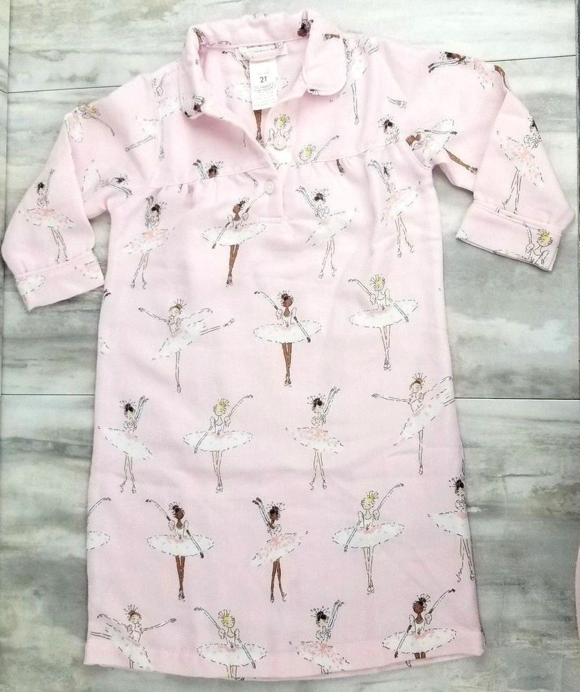 Pottery Barn Kids Toddler Girls Ballerina Nightgown
