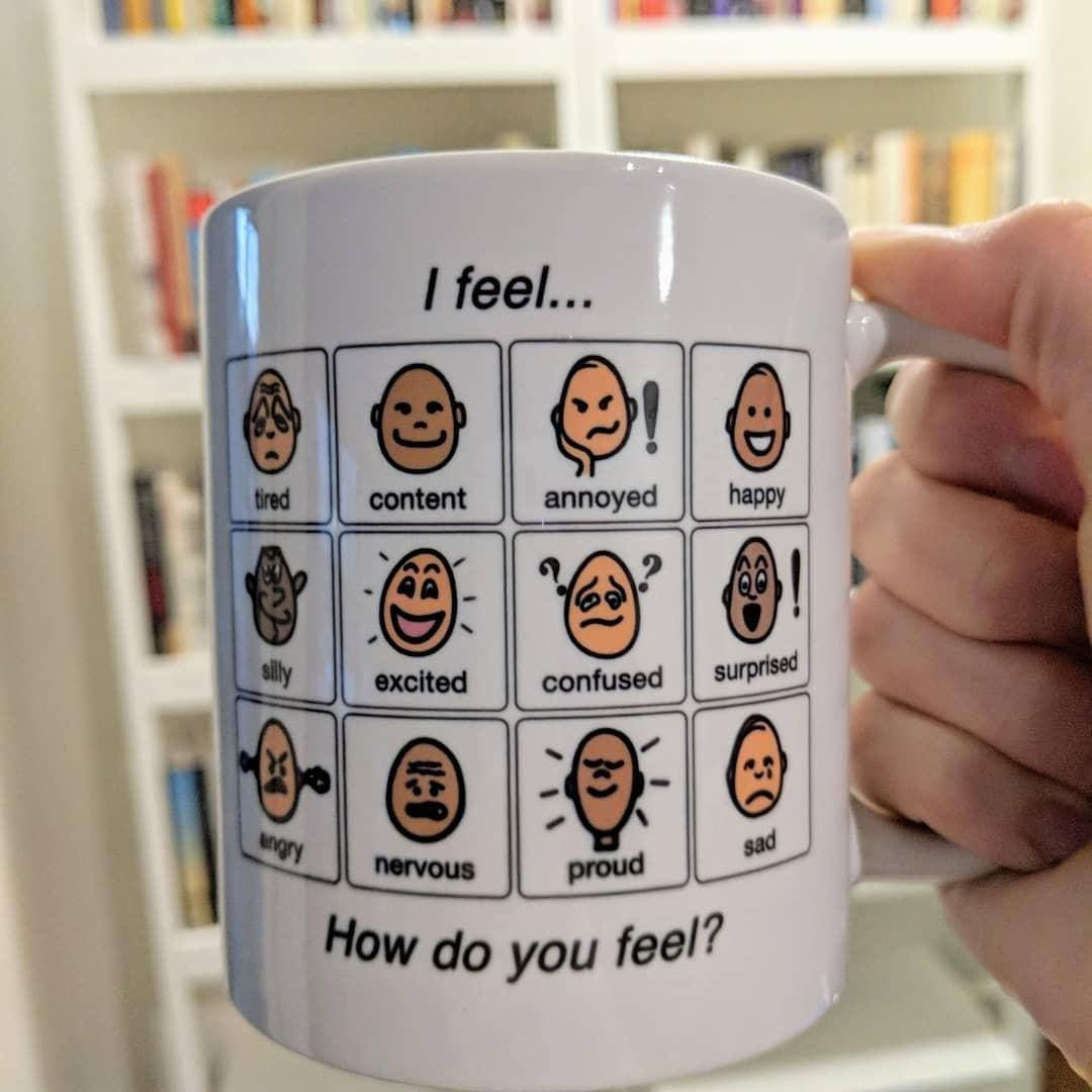 How Do You Feel Today This Is Our Pcs Symbol Mug With Images