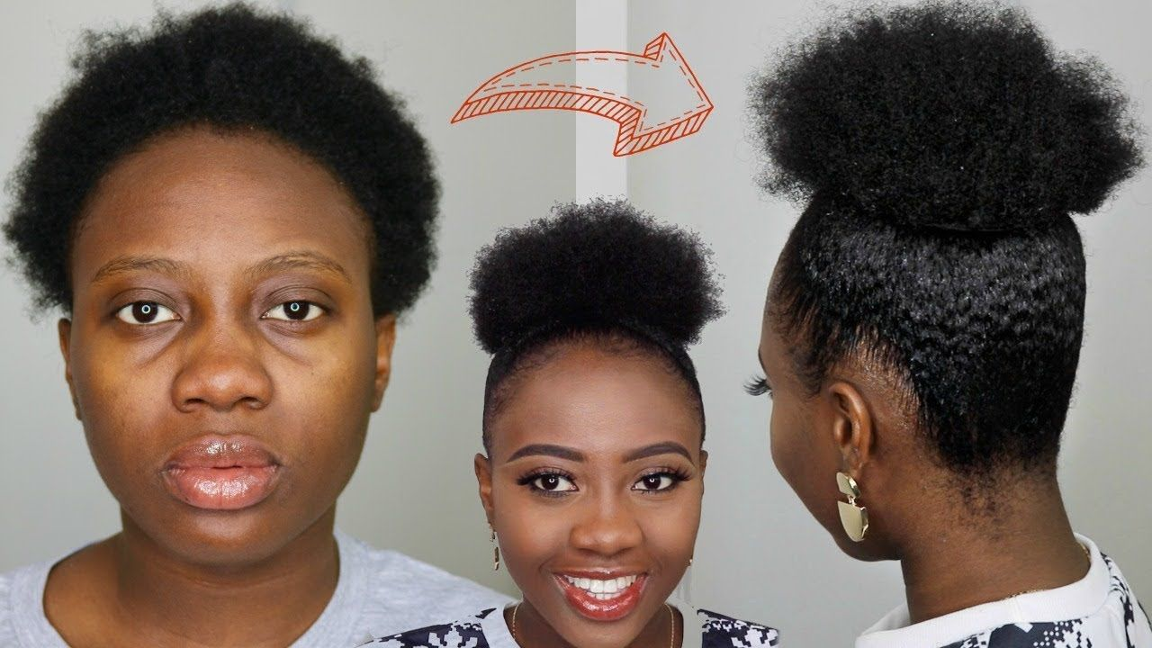 16+ Short natural black hairstyles for 4c hair trends