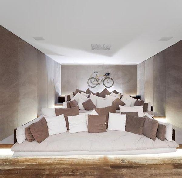 16 idées pour aménager et décorer votre home cinema | Cinema room ...