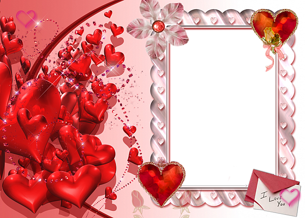 I Love You Heart Transparent Frame Red Frame By Frame Animation Love Picture Frames Frame