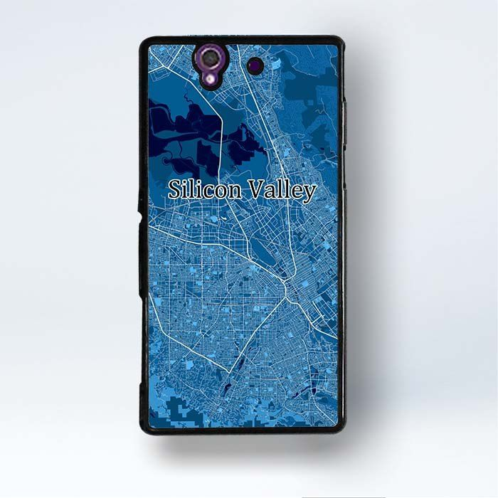 Xperia Z3 Compact Silicon Valley Case Us Map Art Sony Xperia Z3 Compact Covers   #entrepreneur #map #mapart #siliconvalley #startup #US #design #cool #phone #case #mobile #cover #accessory
