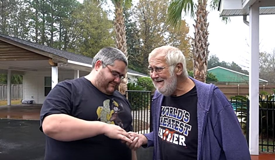 Christmas 2016 — Son's Gift Brings 'Angry Grandpa' Dad To Sobbing Tears