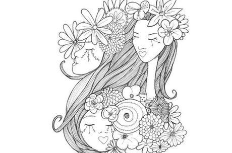 Sorteo Libro para colorear: Chicas de papel   Pinterest   Libros ...