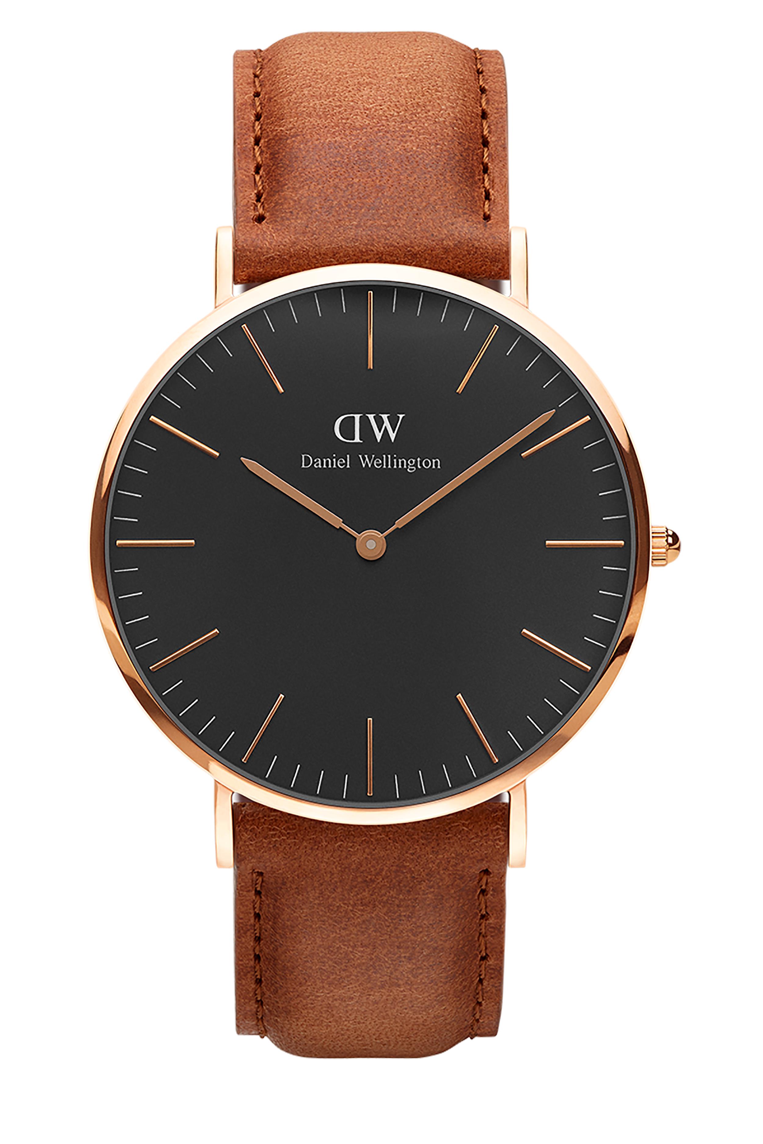 835a373f3ac1 Daniel Wellington Inc. Classic Black Durham 40mm Watch in Rose Gold ...
