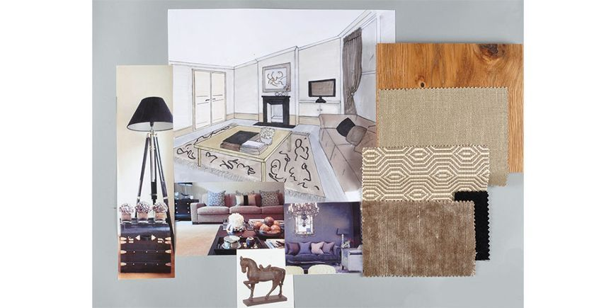 Living Room Design Board Interior Design Module Three Short Course Fascinating Short Courses Interior Design
