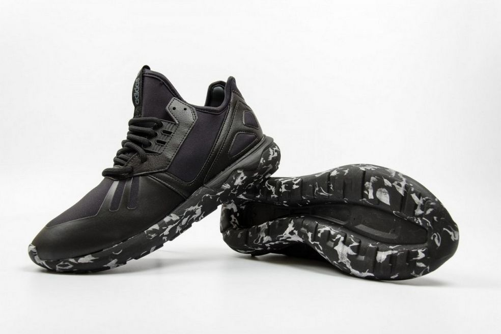The adidas Originals Tubular Runner Gets a Black Marble Look