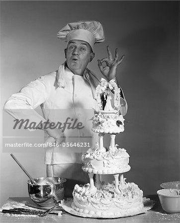 1950s wedding cakes