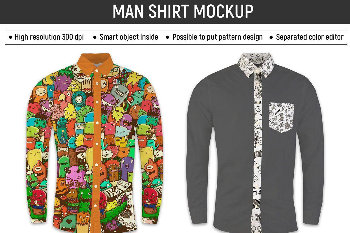 Download Man Shirt Mockup Shirt Mockup Mens Shirts Long Sleeve Tshirt Men