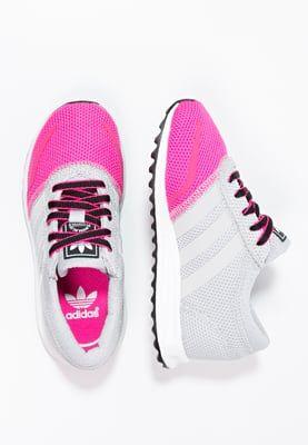 Schoenen adidas Originals LOS ANGELES - Sneakers laag - solid grey/white/shock  pink