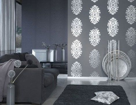 Bedroom Decorating Ideas Silver grey and turquoise living room ideas | living room decoration on
