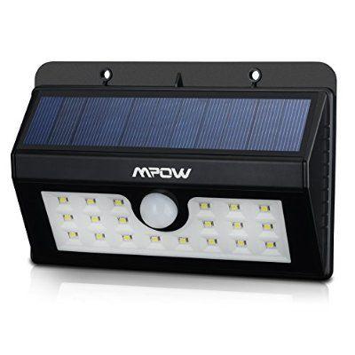 20 Lampe Solaire Jardin led sans fil Mpow Luminaire Exterieur