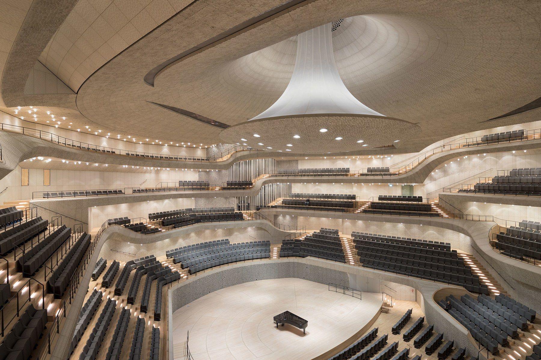 Herzog De Meuron Elbphilharmonie Opera House In Hamburg Architectural Digest Concert Hall Elbphilharmonie Concert Hall Auditorium Design
