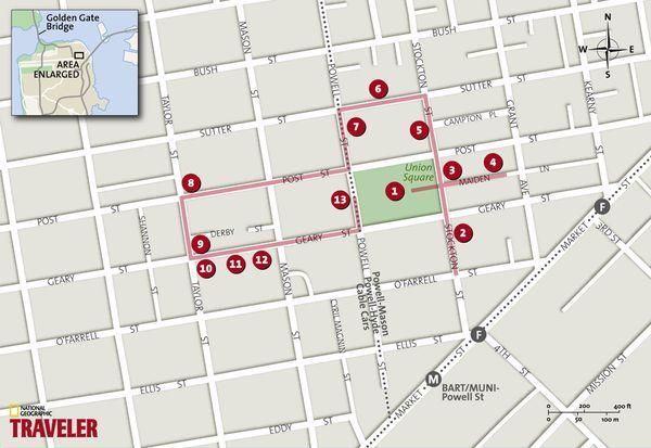 San Francisco Hotel Union Square Location 2017