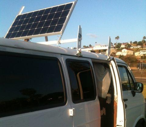 Cheap Rv Living Com Brian S Van Conversion Why Am I Not Enjoying Life Solar Panel Mounts Van Conversion Van